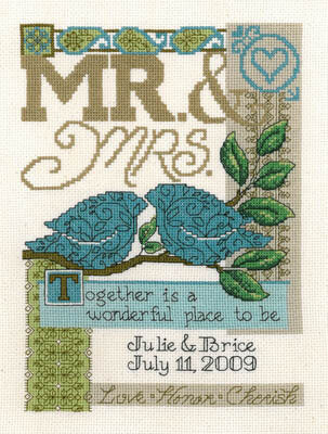 Together - Cross Stitch Pattern