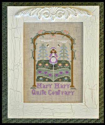 Mary Mary Quite Contrary - Cross Stitch Pattern