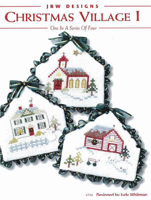 Christmas Village I - Cross Stitch Pattern