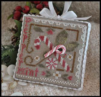 Peppermint Twist - Cross Stitch Pattern