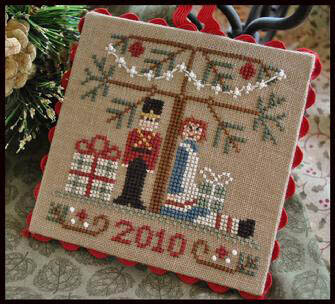 Ornament 10 - Under the Tree - Cross Stitch Pattern