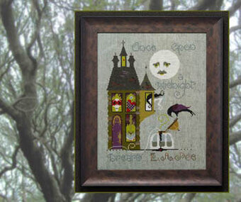 Master & the Macabre - Cross Stitch Pattern