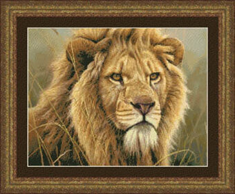King of Beasts - Cross Stitch Pattern