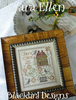 Anniversaries of the Heart 8 - Clara Ellenn - Cross Stitch