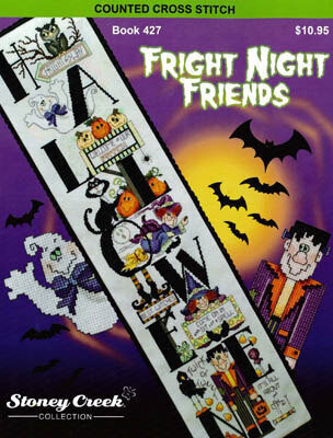 Fright Night Friends - Cross Stitch Pattern