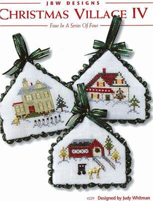 Christmas Village IV - Cross Stitch Pattern