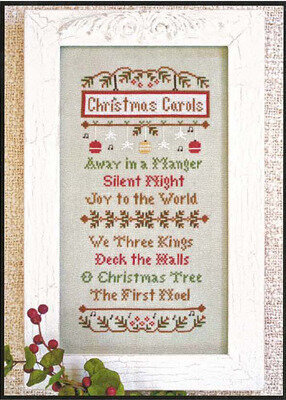 Christmas Carols - Cross Stitch Pattern