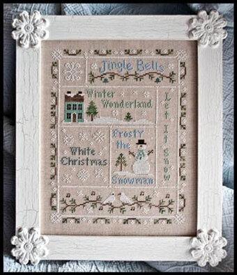 Snowflake Serenade - Cross Stitch Pattern