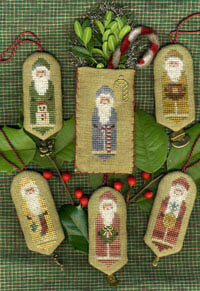 Santas a Plenty II - Cross Stitch Pattern