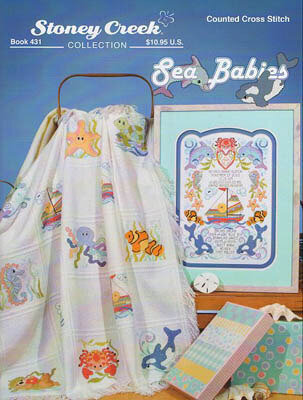Sea Babies - Cross Stitch Pattern
