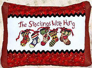 Stockings Were Hung (MS109)- Cross Stitch Pattern