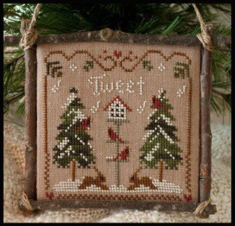 Cardinal Winter - Cross Stitch Pattern