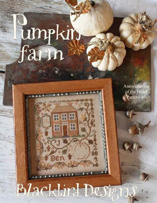 Pumpkin Farm - Anniversaries of the Heart 10 - Cross Stitch