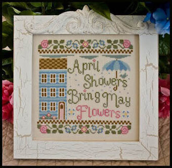 April Showers - Cross Stitch Pattern