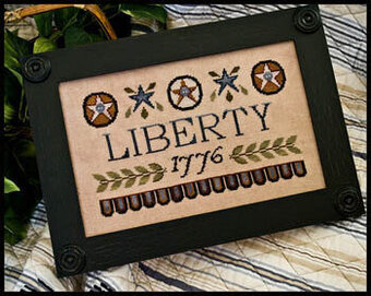 Liberty 1776 - Cross Stitch Pattern