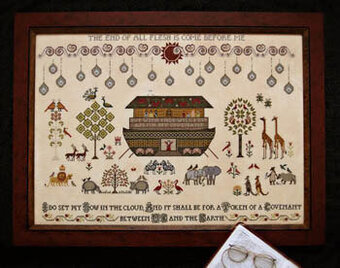 Flood, The - Cross Stitch Pattern