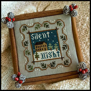 2011 Ornament 5 - Silent Night - Cross Stitch Pattern