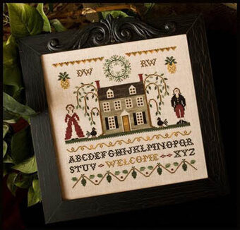 Colonial Welcome - Cross Stitch Pattern