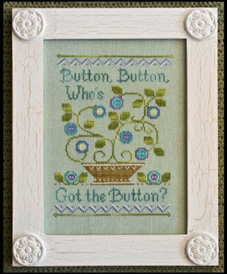 Button Button - Cross Stitch Pattern