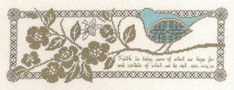 Faith and Hope (2729) - Cross Stitch Pattern