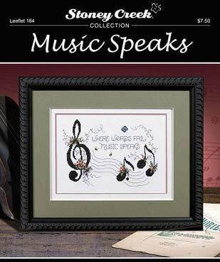 Music Speaks - Cross Stitch Pattern