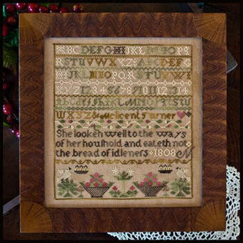 Melicent Turner Sampler, The - Cross Stitch Pattern