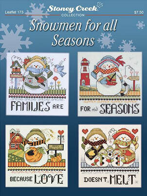 Snowmen For All Seasons - Cross Stitch Pattern