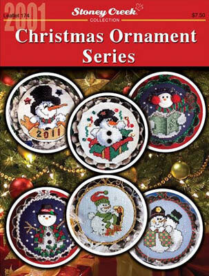 Christmas Ornament Series (2001)- Cross Stitch Pattern
