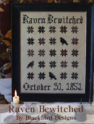 Raven Bewitched - Cross Stitch Pattern