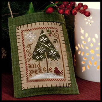 2011 Ornament 9 - Joy & Peace - Cross Stitch Pattern