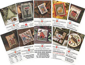 Mini Card Set C - (Sow Dry) - Cross Stitch Pattern
