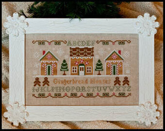 Gingerbread Houses - Cross Stitch Pattern