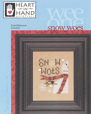 Snow Woes (w/Embellishment) - Cross Stitch Pattern