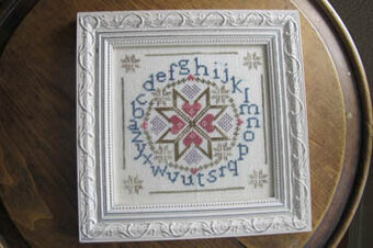 Amish Alphabet - Cross Stitch Pattern