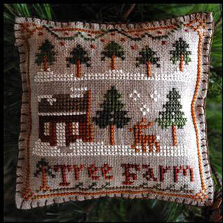 Tree Farm - Cross Stitch Pattern