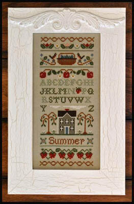 Summer Band Sampler - Cross Stitch Pattern