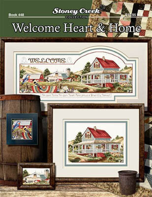 Welcome Heart & Home - Cross Stitch Pattern