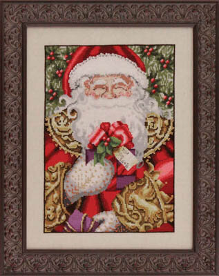 Santa - Mirabilia Cross Stitch Pattern