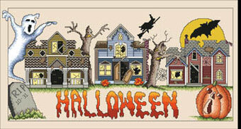 Halloweentown - Cross Stitch Pattern