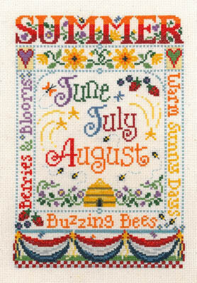 Summer Season - Cross Stitch Pattern
