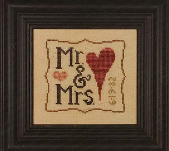 Mr & Mrs Wee One - Cross Stitch Pattern