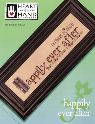 Happily Ever After (w/embellishments) - Cross Stitch Pattern