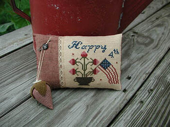 Happy 4th - Cross Stitch Pattern