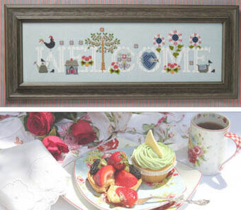 Cottage Welcome - Cross Stitch Pattern