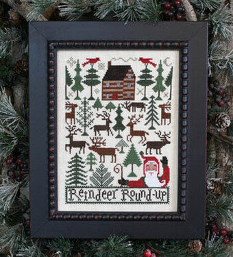 Reindeer Roundup - Cross Stitch Pattern