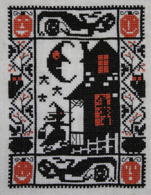 Knock Knock - Cross Stitch Pattern
