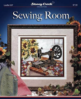 Sewing Room - Cross Stitch Pattern