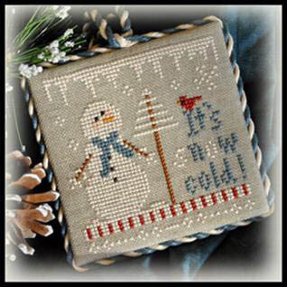 2012 Ornament 8 - It's Snow Cold - Cross Stitch Pattern