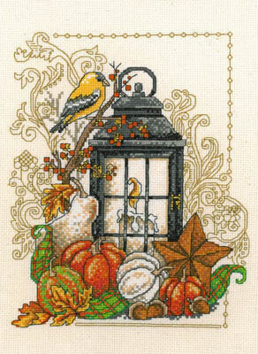 Harvest Light - Cross Stitch Pattern