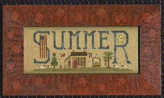 Scenes Of Summer - Cross Stitch Pattern